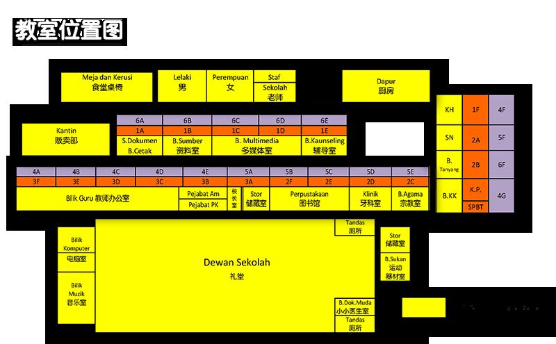 教室位置图