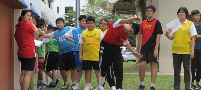 2014年校内运动会第一天